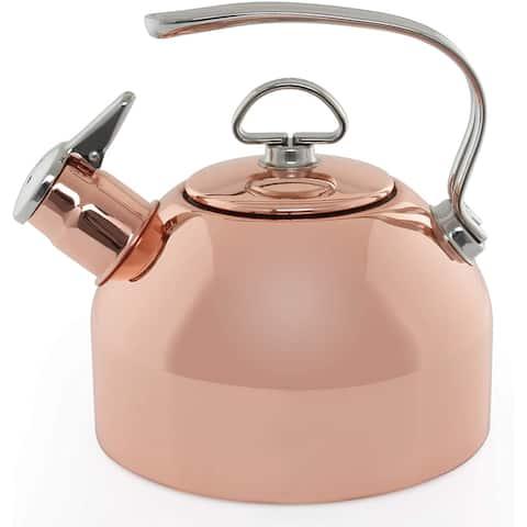 Chantal SL37-19CP Copper Classic Teakettle-1.8 Quart