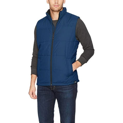 ZeroXposur Men ThermoCloud Water Resistant Lightweight Puffer Quilted Vest XL - X-Large