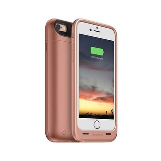iPhone 6s & iPhone 6 mophie Juice Pack Air Battery Case 2750mAh - Gold - rose gold