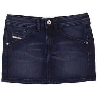 Diesel Girls Faded Denim Skirt - 12