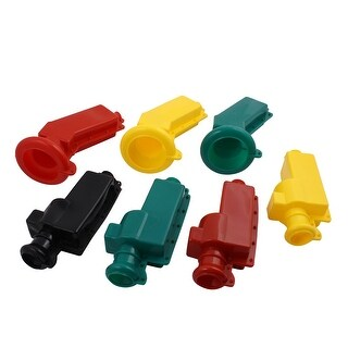 7Pcs Transformer Insulated Jacket Voltage Shield Resistance Silicone Rubber