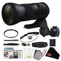 Tamron SP 150-600mm f/5-6.3 Di VC USD G2 for Canon EF Pro Accessory Kit - black