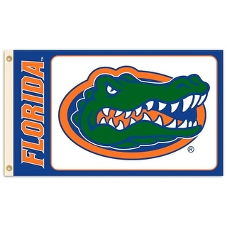 University of Florida Gators Logo Flag