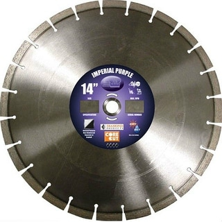 "Diamond Products 15379 Universal Segmented Blade Purple, 14"" x .125"""