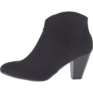 Report Womens Marque Suede Closed Toe Ankle Fashion Boots