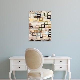 Easy Art Prints Natalie Avondet's 'Square RD I' Premium Canvas Art
