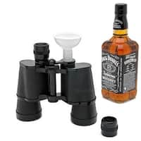 Secret Binocular Flask - Black