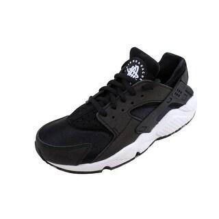 Nike Women's Air Huarache Run Black/Black-White 634835-006
