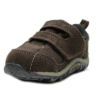 Merrell Jungle Moc Dual Strap Round Toe Suede Sneakers