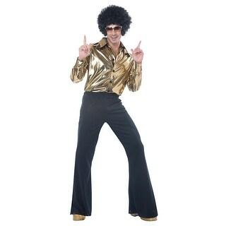 Mens Disco King 1970s Halloween Costume