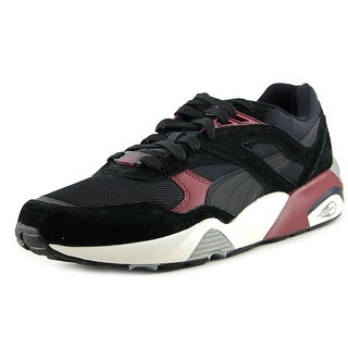 Puma R698 CASUAL Men Round Toe Synthetic Black Tennis Shoe