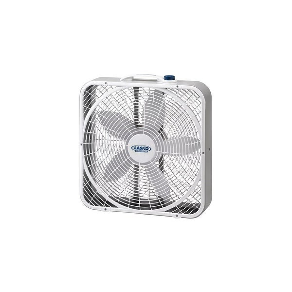 Lasko 20 Inch Weather-Shield Performance Box Fan Weather-Shield Performance Box Fan