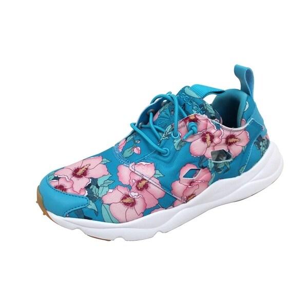 Shop Reebok Women s Furylite FG Flight Blue Berry-Pink BD1097 - On ... 5116805bd