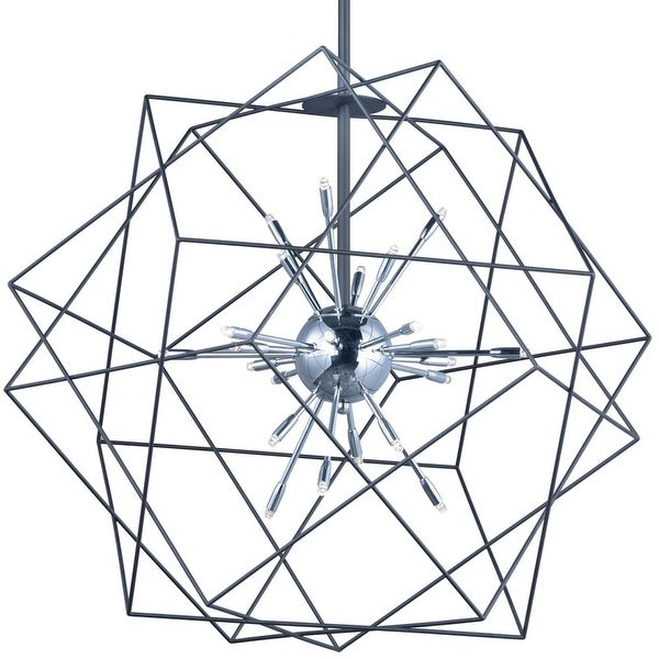 Shop Et2 E22914 Rubic 33 Wide Led Sputnik Chandelier