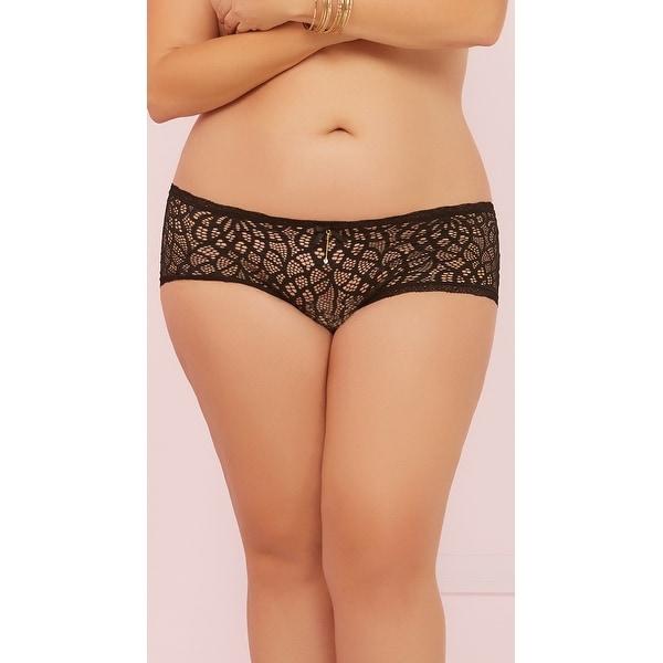 ebb2e7c2357 Shop Plus Size Darling Crochet Panty