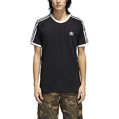 adidas Skateboarding Men's California 2.0 Tee Black/White Large