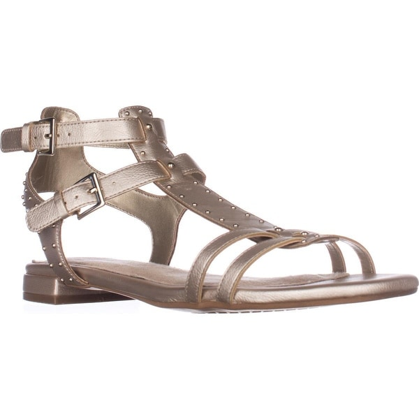 Aerosoles Showdown Gladiator Sandals, Gold