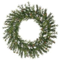 """48"""" Mixed Country Pine Wreath 220T"""