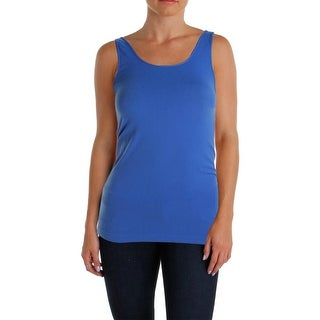 Aqua Womens Tank Top Stretch Scoop Neck - o/s
