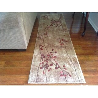 Shop Nourison Somerset Latte Area Rug 5 6 On Sale