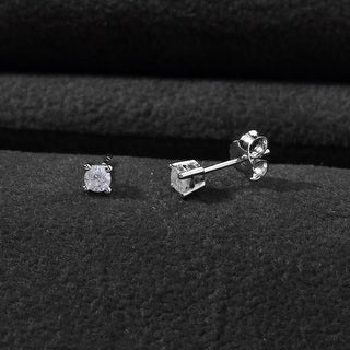 Link to 10K Diamond Stud Earring White gold (1/5cttw H-I Color, I2 Clarity) Similar Items in Earrings