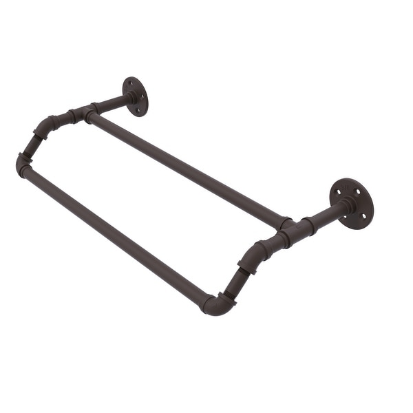Allied Brass Pipeline Collection Double Towel Bar
