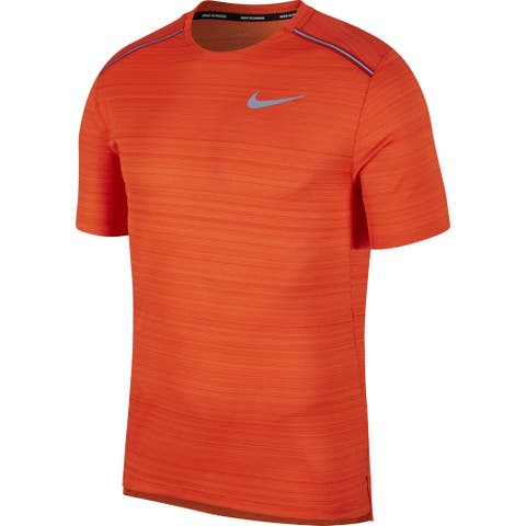 Nike Mens T-Shirt Running Short Sleeve
