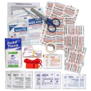 Lifeline First Aid Water Bottle Kit 43 Pieces 4772