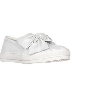 Nine West Onosha Slip-on Fashion Sneakers, White Leather