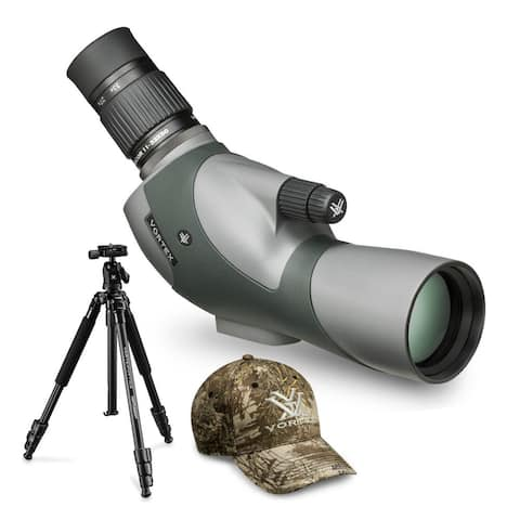 Vortex Razor HD 11-33x50 Spotting Scope (Angled) with Tripod and Cap