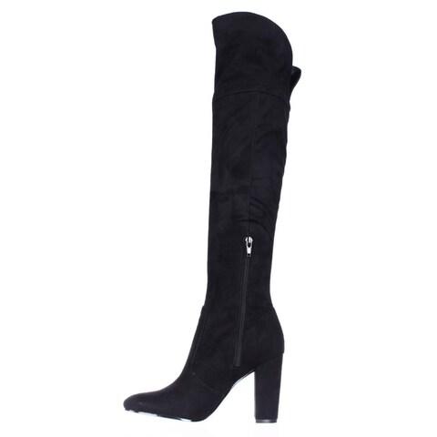 Ivanka Trump Womens Riviera Closed Toe Over Knee Riding Boots