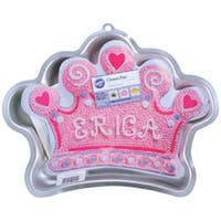 "Crown 14.25""X10.5""X2"" - Novelty Cake Pan"