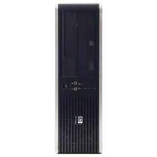 HP DC5800 Desktop Computer SFF Intel Pentium E5200 2.5G 4GB DDR2 160G Windows 7 Pro 1 Year Warranty (Refurbished) - Silver