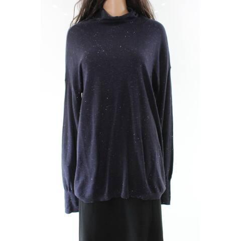 Chelsea28 Women's Split-Back Cut-Out Mock-Neck Sweater