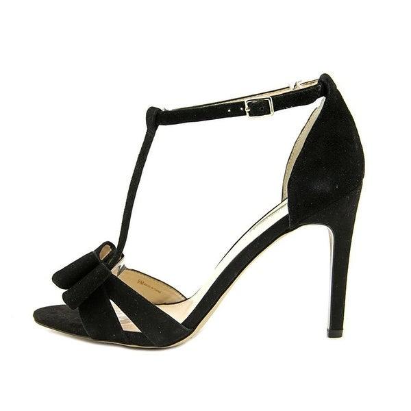 INC International Concepts Womens REESIE Leather Open Toe Ankle Strap Classic...