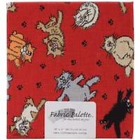 "Cats - Fabric Palette Precut 18""X21"""