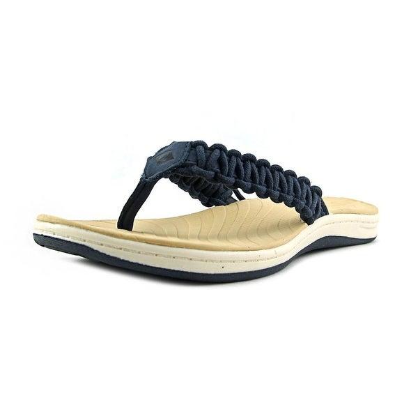 Sperry Top Sider Seabrook Current Open Toe Leather Flip Flop Sandal