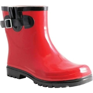 Nomad Women's Dew Rain Boot Red