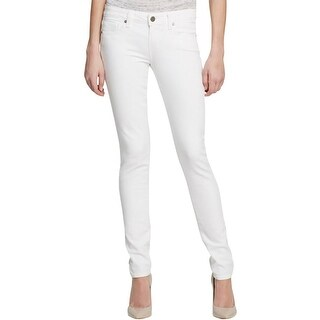 Paige Womens Skyline Colored Skinny Jeans Denim Mid-Rise