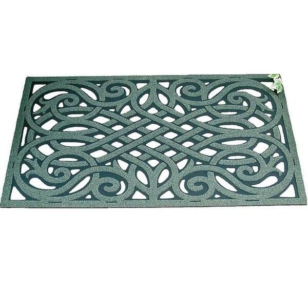 """Homebasix 06ABSHE-15-3L Floor Mat, 18"""" x 30"""""""