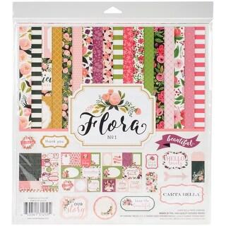 "Carta Bella Collection Kit 12""X12""-Flora No. 1"