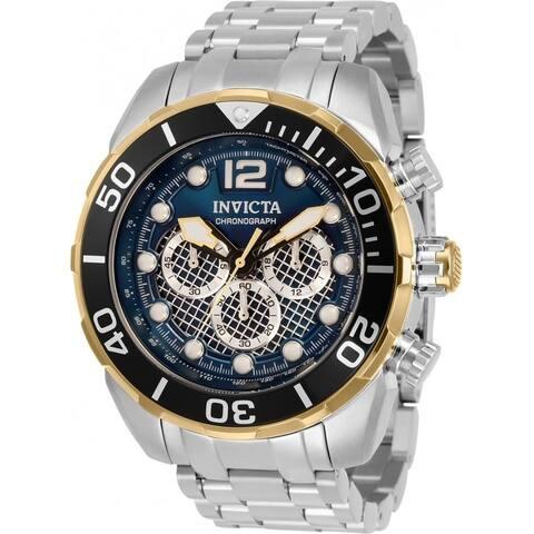 Invicta Men's 33829 'Pro Diver' Stainless Steel Watch - Black
