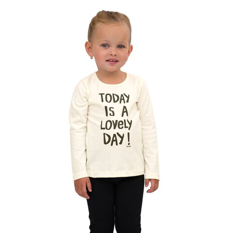 Pulla Bulla Toddler Girl Long Sleeve Shirt Graphic Tee