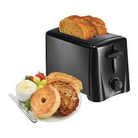 Proctor Silex 22612 2-Slice Cool Touch Toaster, Black