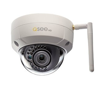 Q-See 3Mp Wi-Fi Dome Security Camera With A 16Gb Microsd Card Included