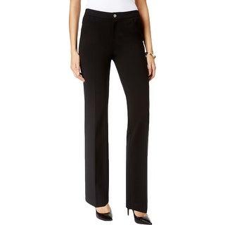 Anne Klein Womens Dress Pants Ponte Straight-Leg