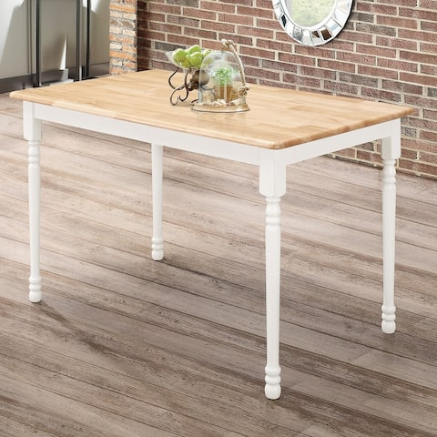 The Gray Barn Hardwick and Natural Wood Dining Table