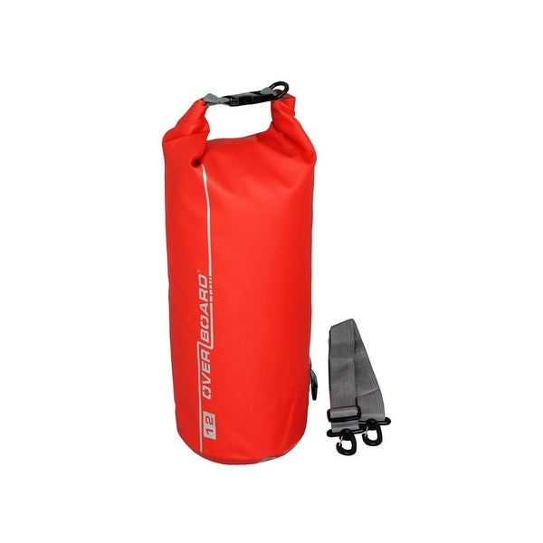Overboard 12 Litre Dry Tube Red OB1003R
