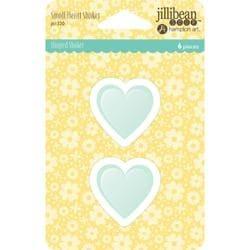 "Jillibean Soup Shaker Cards W//envelopes 5.5/""x4.25/"" 6//pkg-small Heart"