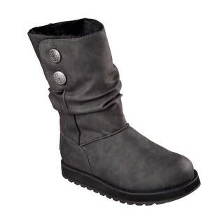 Skechers 48805 BLK Women's KEEPSAKES - LEATHERETTE Boot